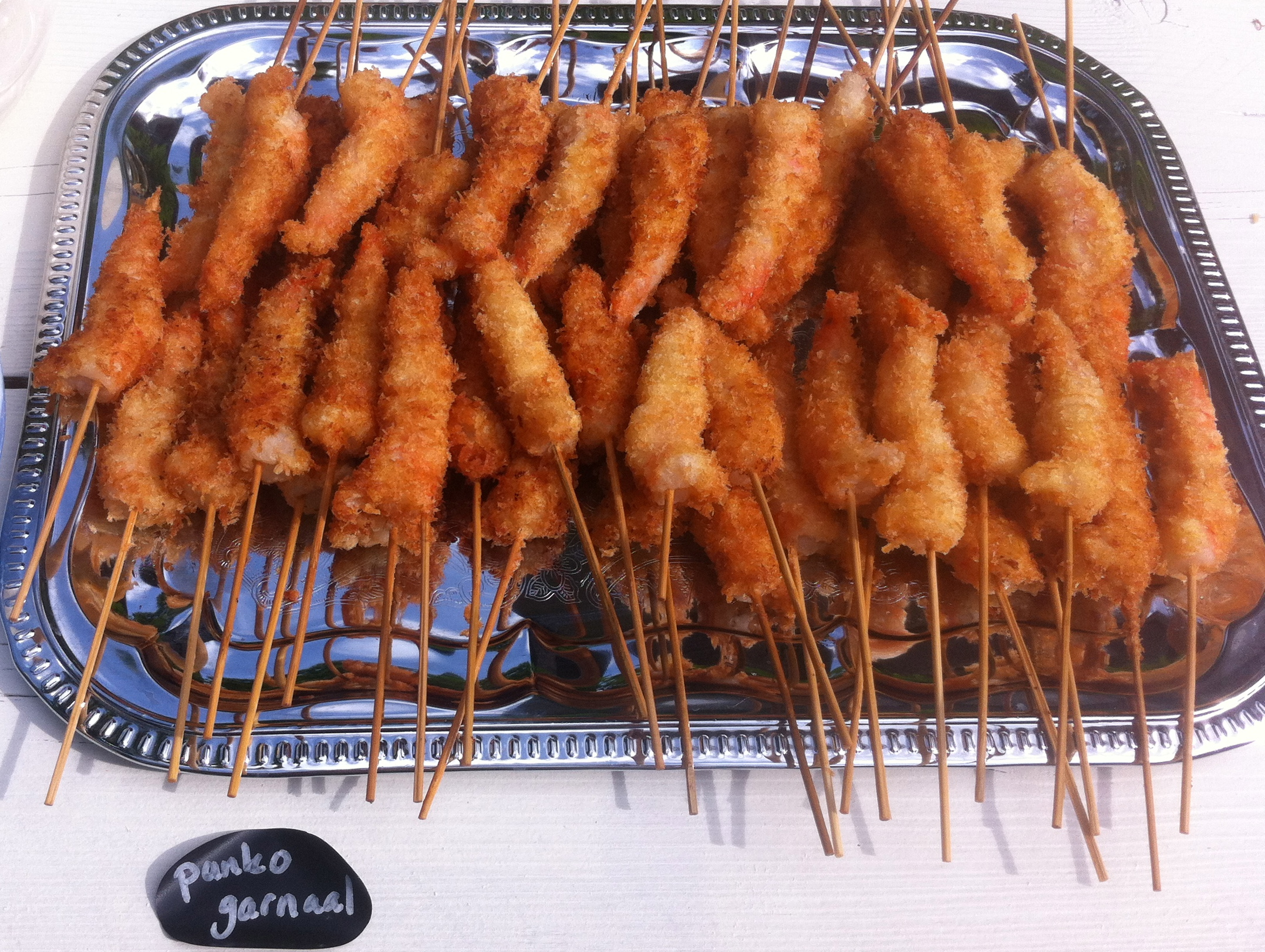 Panko shrimp | more recepies at www.notafraidofbutter.nl