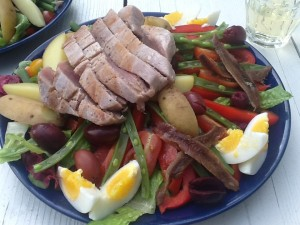 Salade nicoise | more recepies at www.notafraidofbutter.nl