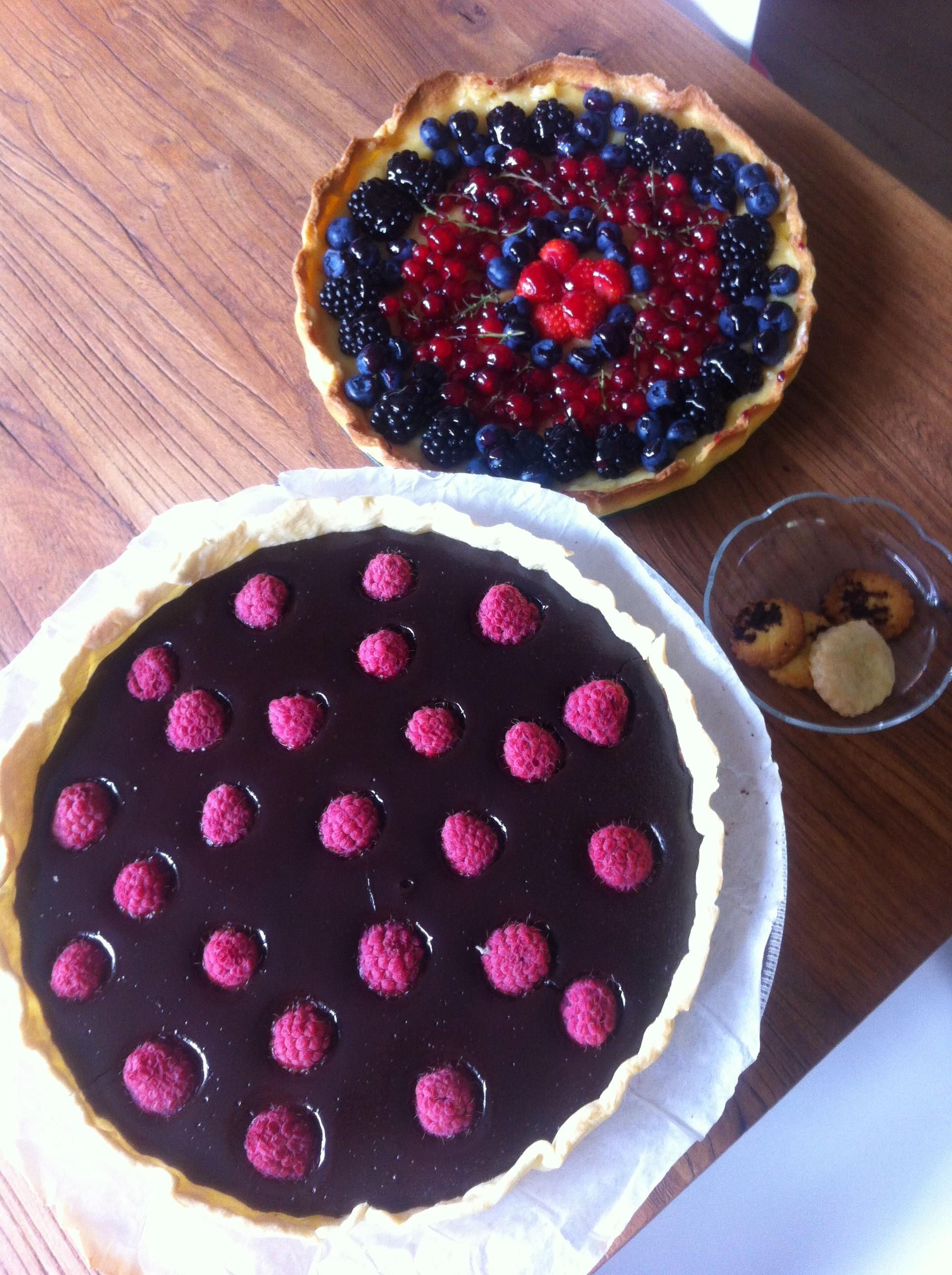 Franse taarten | more #recepies at www.notafraidofbutter.nl