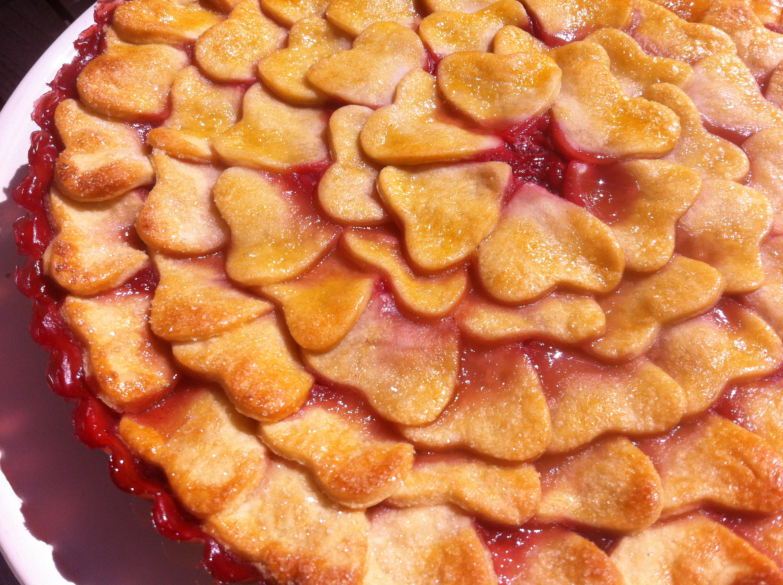Strawberry pie | more recipes at notafraidofbutter.nl