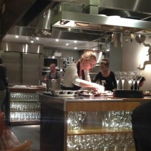 carolien, In de keuken van Floris