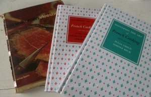 Cookbooks Wina Born and Julia Child | notafraidofbutter.nl