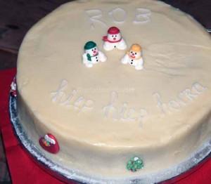 notafraidofbutter.nl | Chocolate Christmas cake
