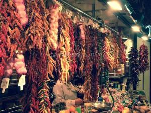 Notafraidofbutter.nl | Barcelona -peppers @mercat la Boqueria