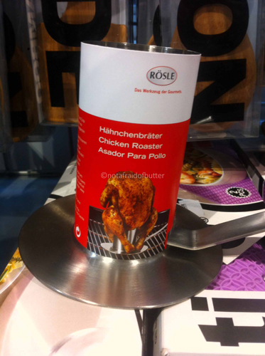 notafraidofbutter.nl | tool for chicken on the BBQ or oven