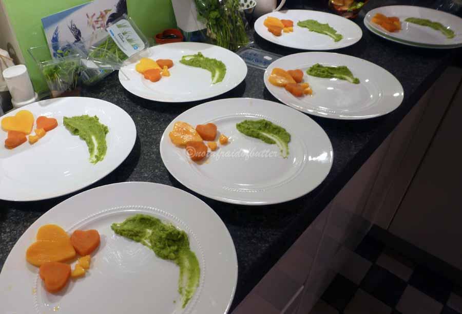 notafraidofbutter.nl |Preparing the plates