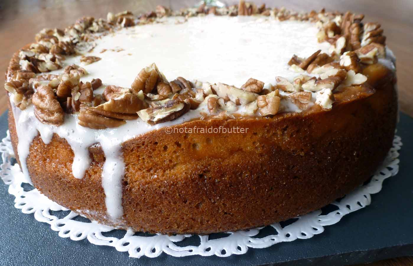 notafraidofbutter.nl| carrot cake and cheesecake combination - if you can't make up your mind