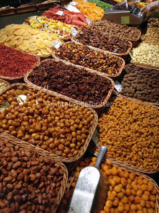 Notafraidofbutter.nl | Barcelona - nuts @ mercat la Boqueria