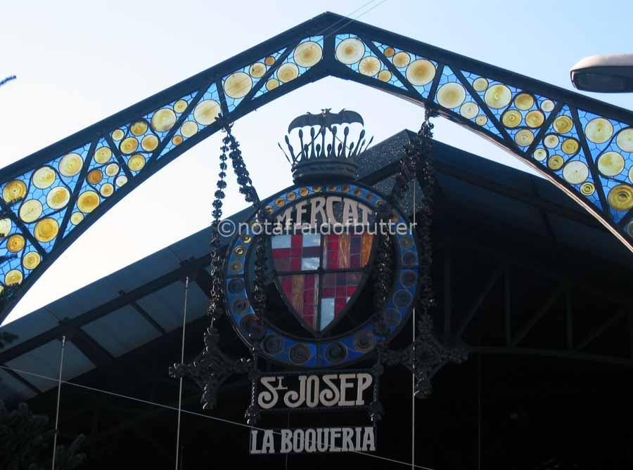 notafraidofbutter.nl | Barcelona - La Boqueria
